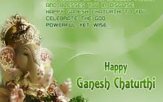 Happy Ganesha Chaturthi quotes in marathi
