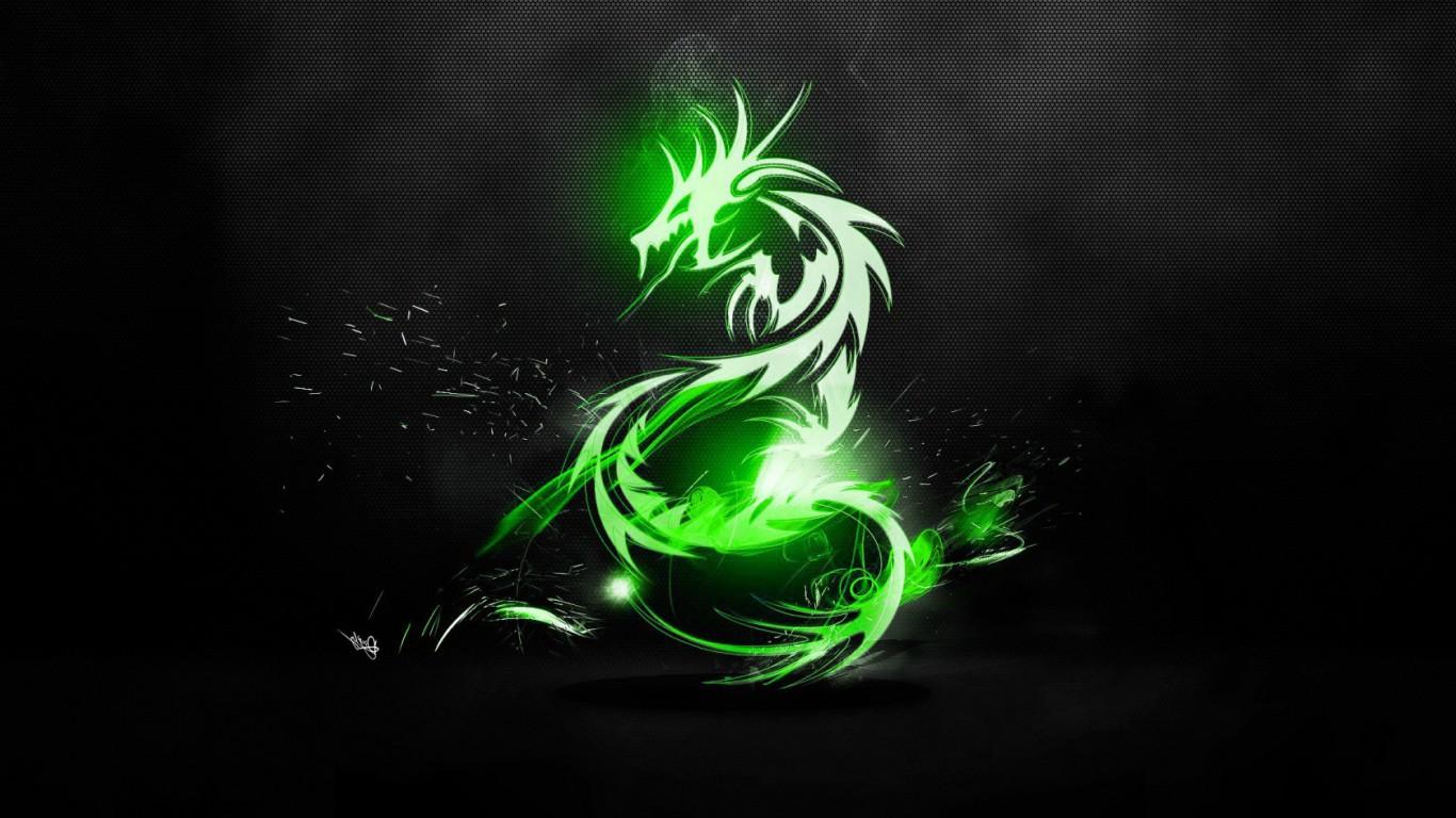 Hd wallpaper dragon - Green Dragon Wallpaper