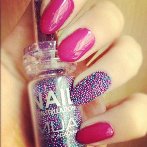 pearl nail art design