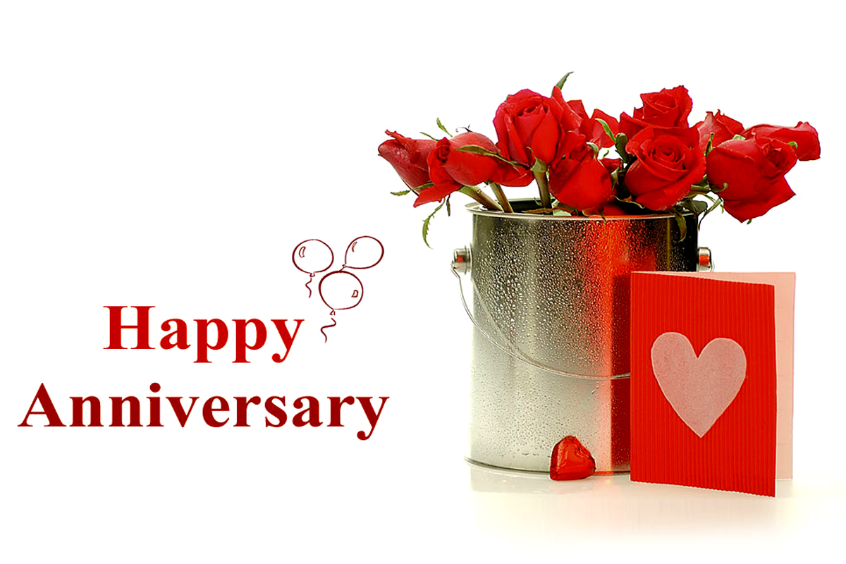 Top 50 Beautiful Happy Wedding Anniversary Wishes Images Photos ...
