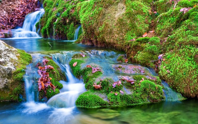 Waterfall Nature HD Wallpaper For Windows