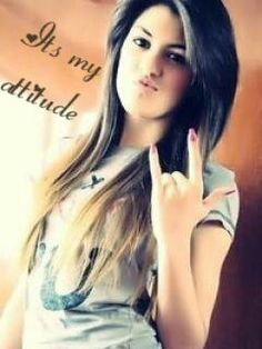 Attitude Girls WhatsApp Dp For Girls