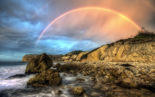 Rainbow HD Wallpaper For PC