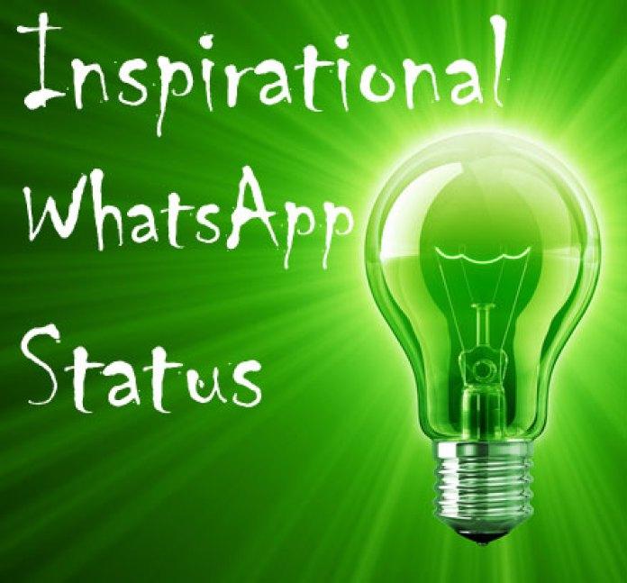 Inspirational Whats app status