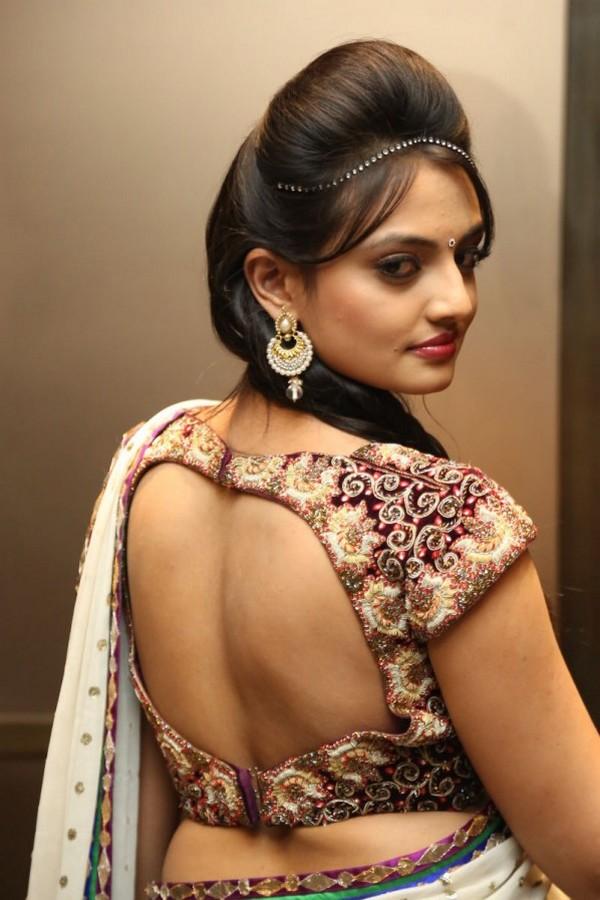 Latest Embellished Saree Blouse Designs & Patterns