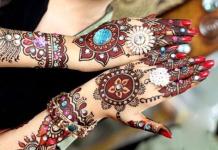 karva chauth mehndi design for bridal