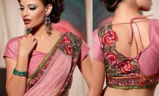 embellished blouse designs