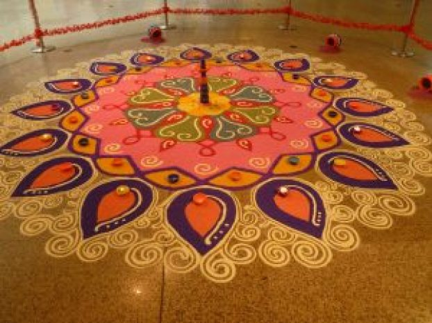 kolam designs for dewali