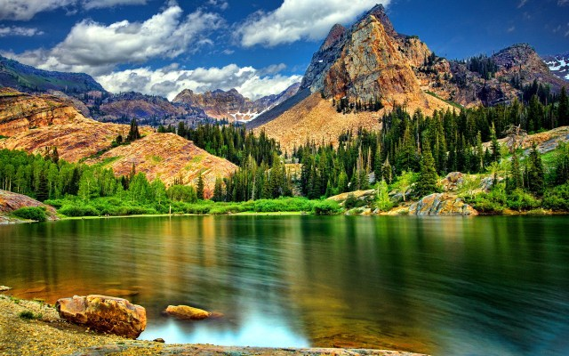 Mountain Nature HD Wallpaper For Desktop Background