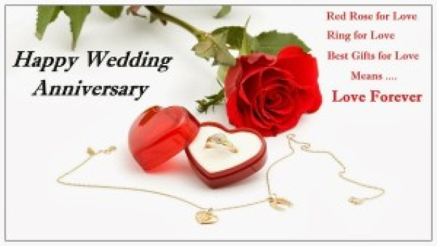 wedding anniversary to parents