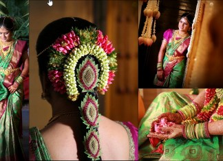 top 30 indian bridal wedding hairstyle images