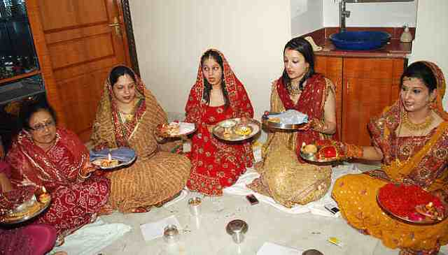 karva chauth story images