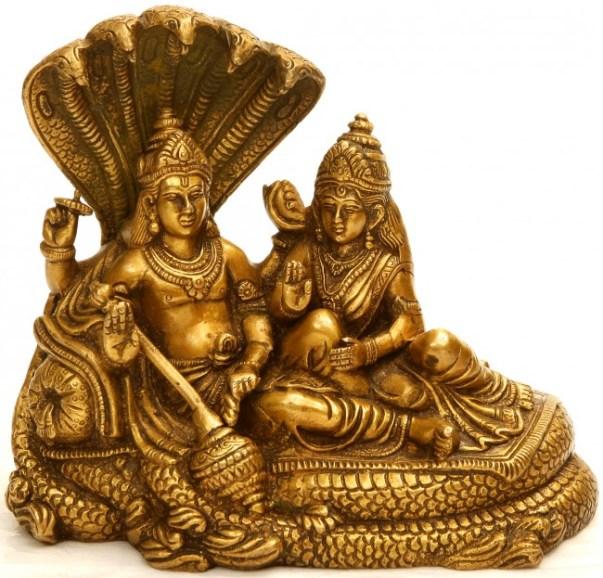 goddess laxmi gold phto