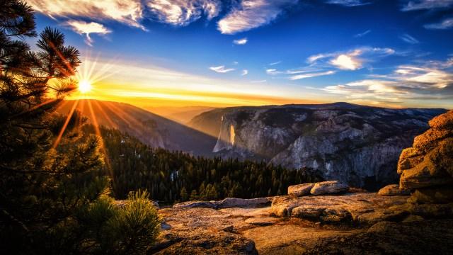 Sunset HD Wallpaper For Desktop Background