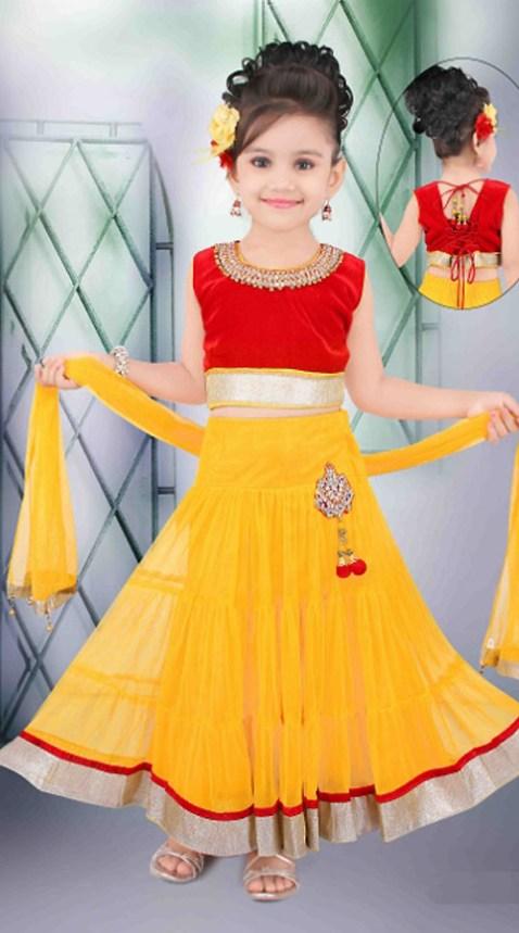 dandiya special dress for kids