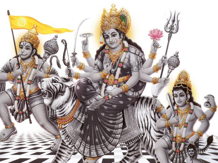 maa durga images for pc