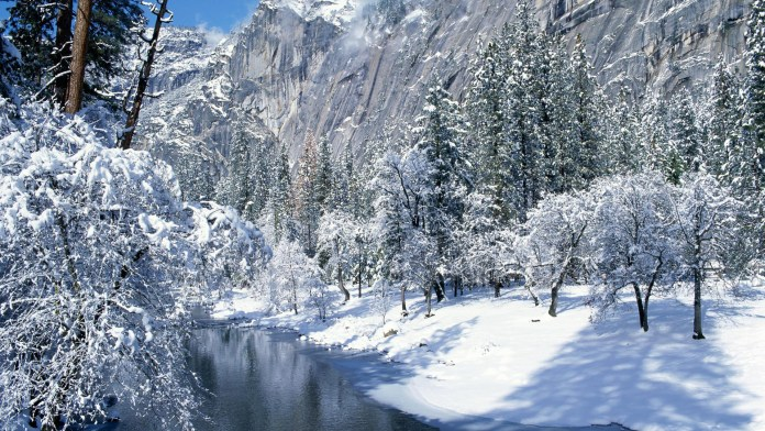 Winter Nature HD Wallpaper For PC