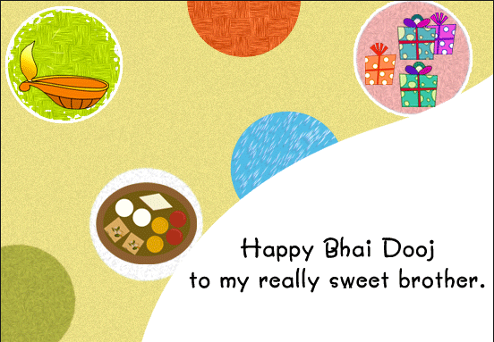 sweet bhai dooj wishes