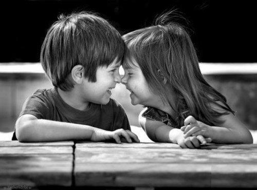 cute kids couple images