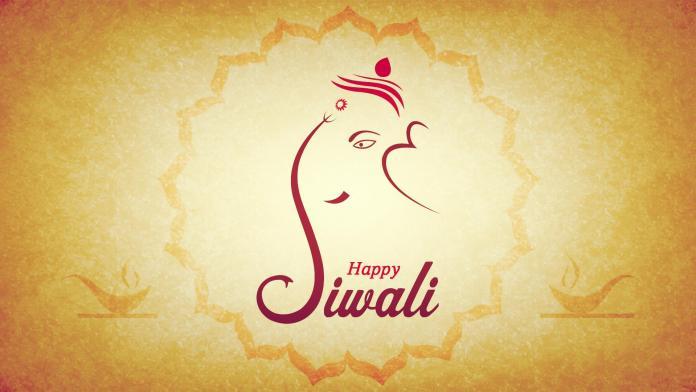 happy diwali ganesha images