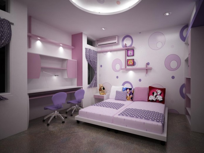 room design on cartoon theme