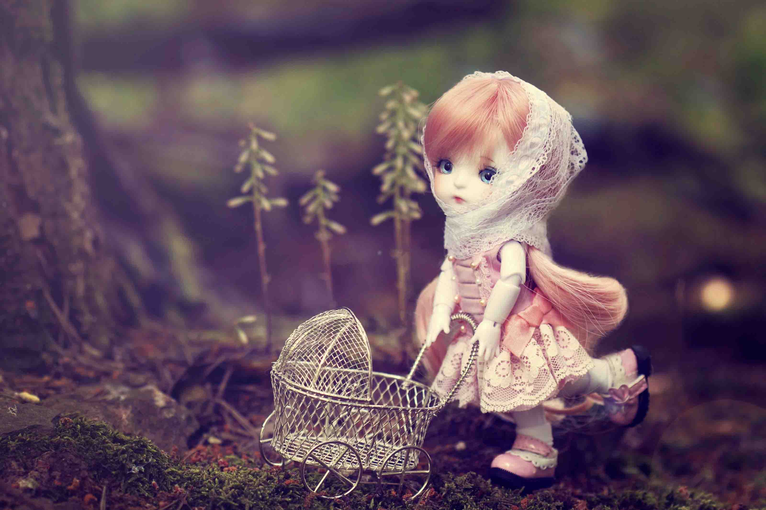 Hd wallpaper doll - Barbie Cute Love Images