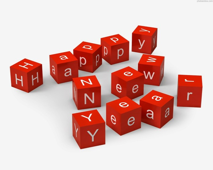 happy new year whats app dp