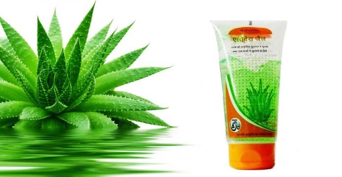 patanjali aloe vera gel for weight loose