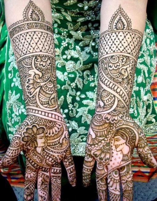 groom wedding mehndi designs
