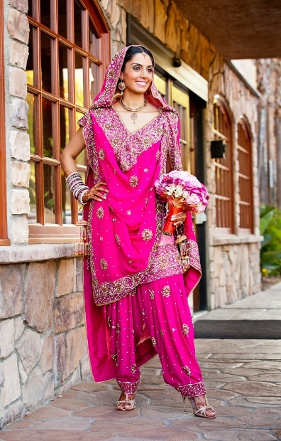 punjabi wedding bridal suits designs