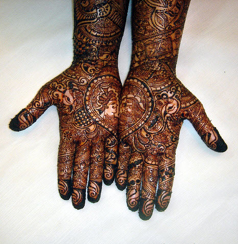 mehndi designs for men hands