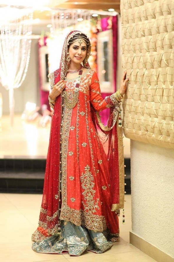 new pakistani designer wedding dress
