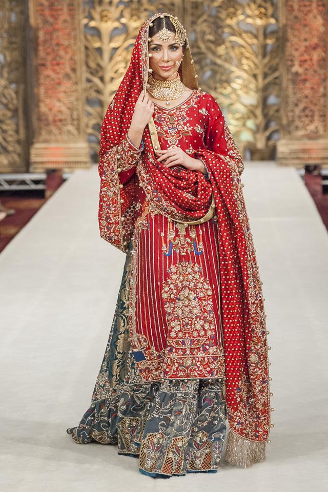 pakistani bridal wedding sharara dress