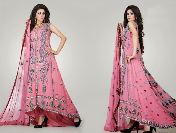 pakistani wedding dresses for mehndi ceremony