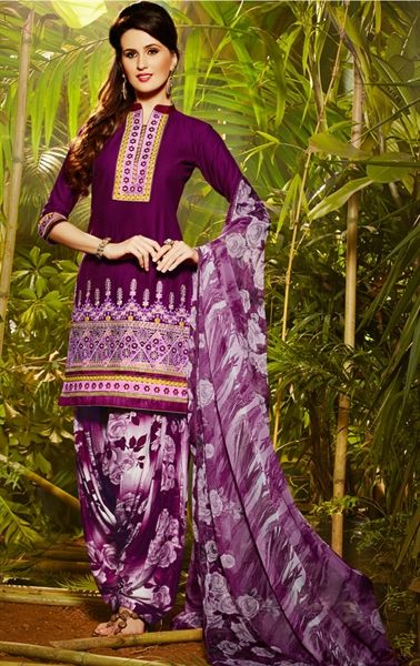 simple patiala suit salwar kameez images