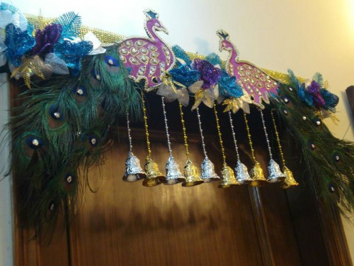 peacock design bandhanwar