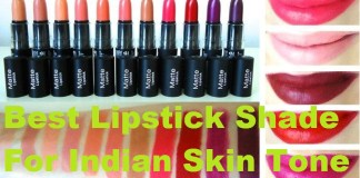 lipstick shade for indian skin tone
