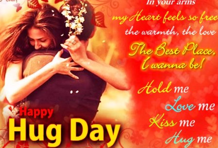 happy hug day whats app messages