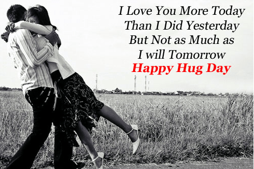 happy hug day love images