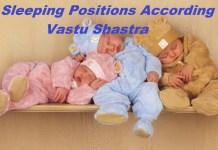 sleeping directions according to vastu