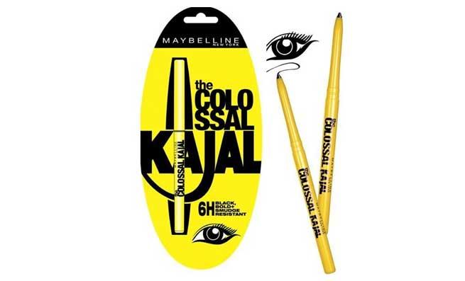 black kajal pencil