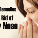 How To Stop Runny Nose Fast By Home Remedies