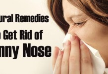 how to stop runny nose
