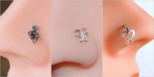 nose ring patterns