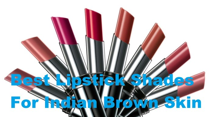 lipstick shades for indian brown skintone