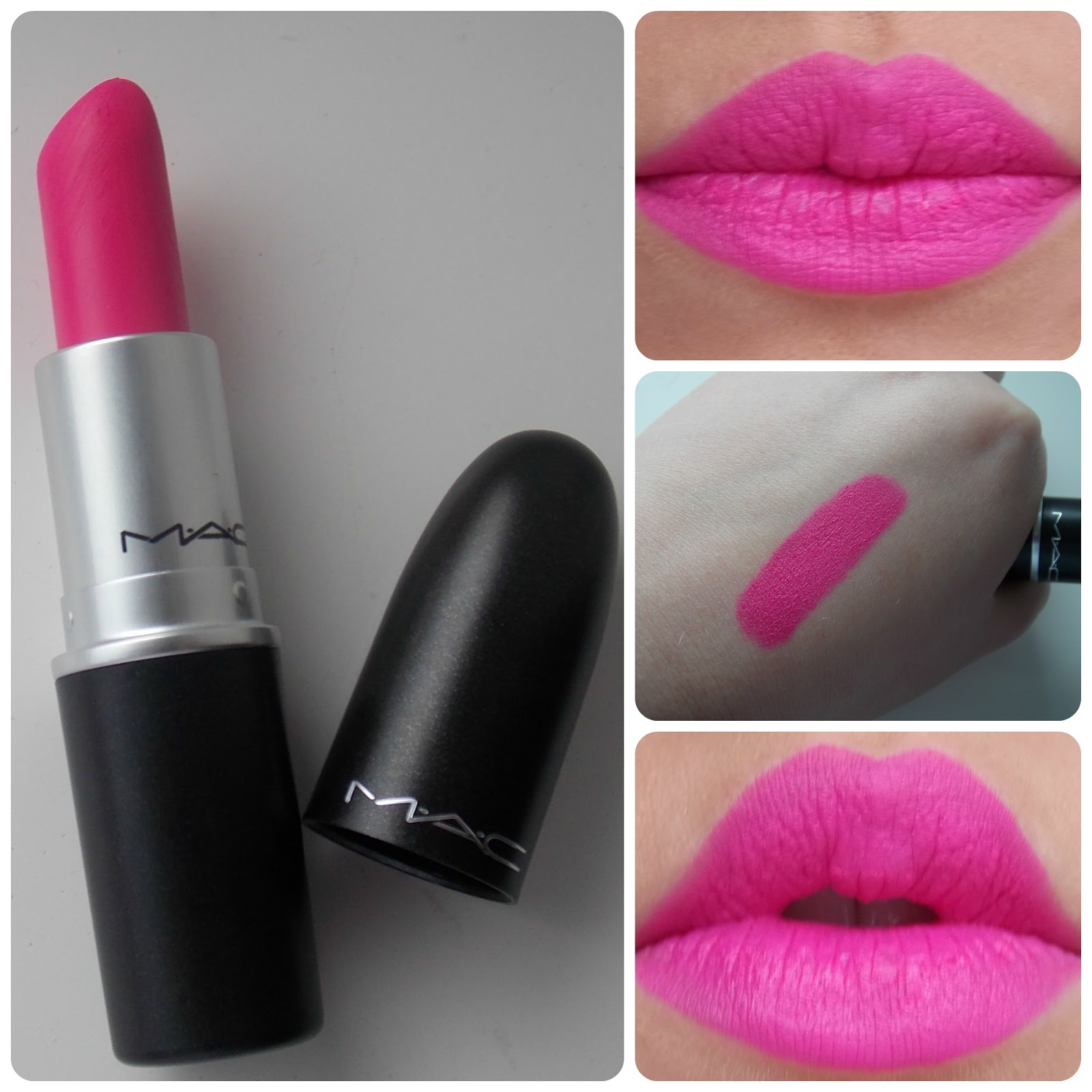 Pink lipstick shades for brown skin