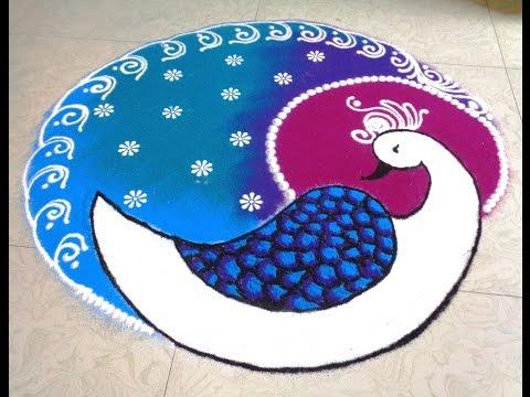 small beautiful rangoli designs