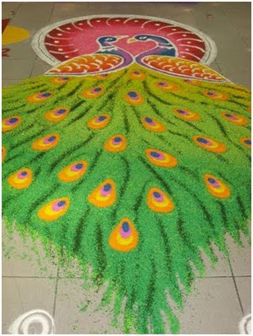 peacock-rangoli-designs-for-kids