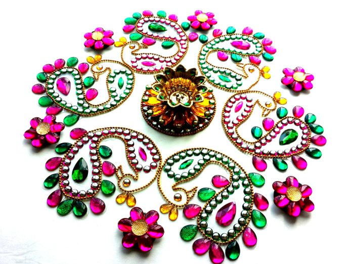 beautiful motif rangoli designs