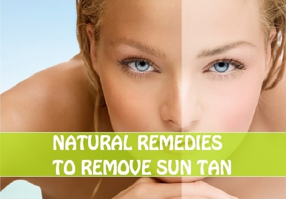 home remedies for sun tanned skin